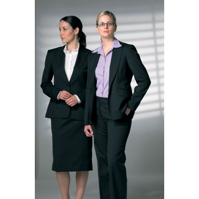 Female Suit Jacket - Poly/wool